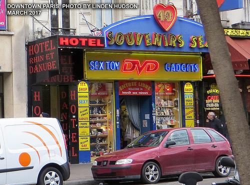 SEX SHOP IN PARIS FRANCE