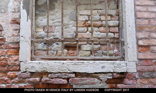 BRICKED UP WINDOW - VENICE
