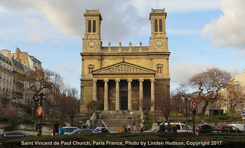 Saint Vincent de Paul, Paris France