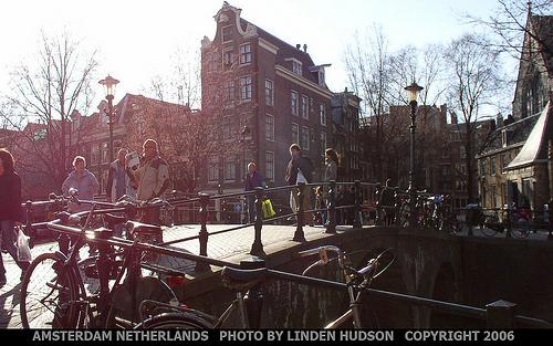 AMSTERDAM NETHERLANDS - SUNNY DAY