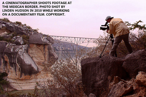 CINEMATOGRAPHER ON A CLIFF