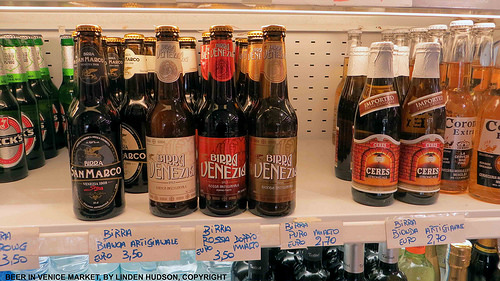 BOTTLES OF BEER IN VENICE