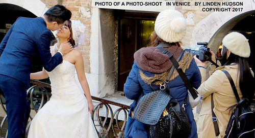 PHOTO OF A PHOTO SHOOT IN VENICE