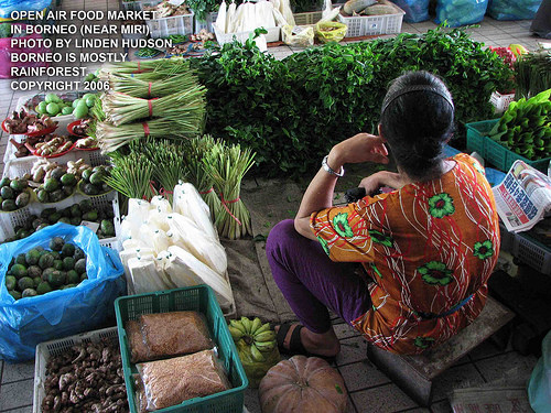 OPEN MARKET IN BORNEO