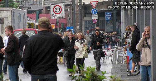 Berlin Street - People