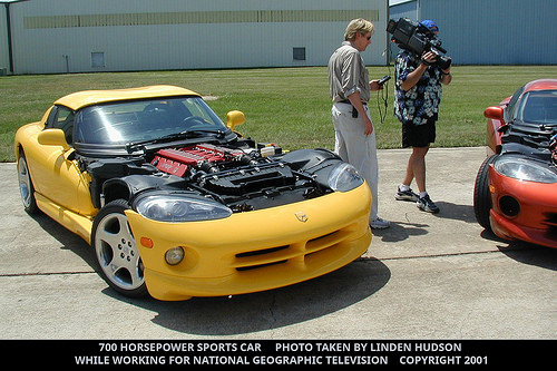 700 HORSEPOWER YELLOW SPORTS CAR