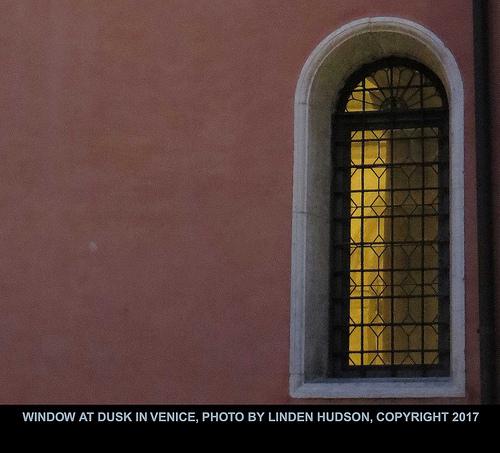 VENICE WINDOW AT DUSK