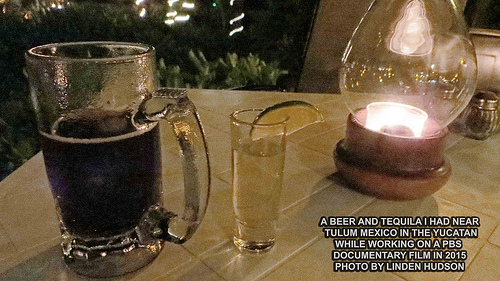 BEER AND TEQUILA IN MEXICO