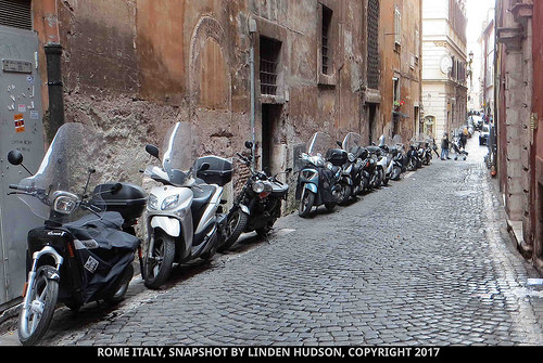 ROME MOTORCYCLES - ALLEY