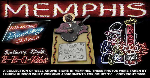 MEMPHIS USA NEON SIGNS