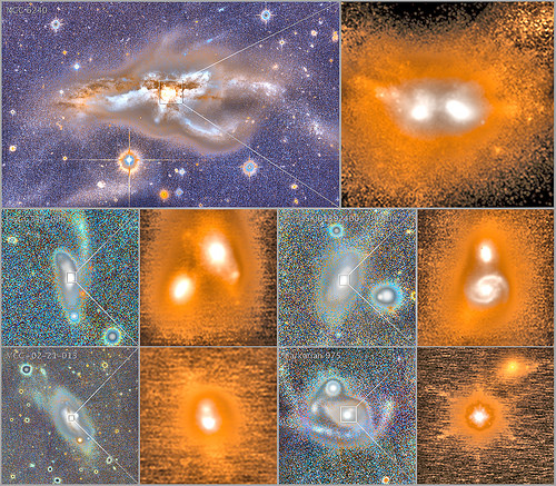 Smashing Galaxies Together for Bigger Black Holes, variant