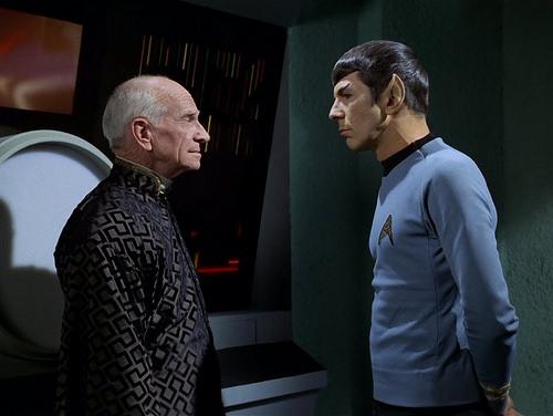 Ian Wolfe, Leonard Nimoy, Star Trek TOS,