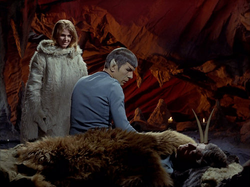 Mariette Hartley, Leonard Nimoy, DeForest Kelley, Star Trek TOS,