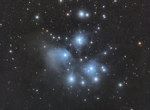 Pleiades (Messier 45 or Seven Sisters)