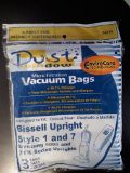 Bissell Style 1 & 7 (& Samsung 5000 -7000) Vacuum Cleaner Bags Microfiltration with Dust Window 3pk