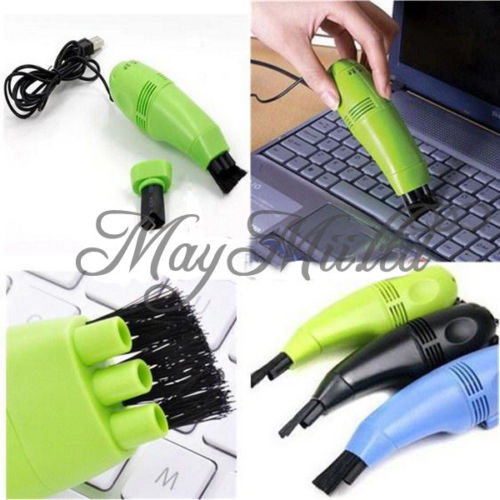 New Mini USB Vacuum Keyboard Cleaner Dust Collector LAPTOP Computer Sales O