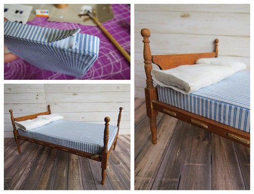 Dollhouse mattress tutorial 2 of 2
