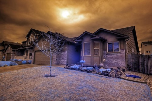 Infrared HDR Colorado Springs.  First test shots with new Tokina lens.