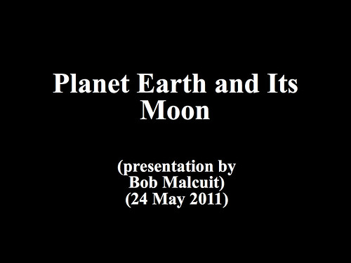 Planet Earth and Its Moon