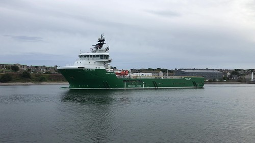 Havila Borg - Aberdeen Harbour Scotland - 18/8/18