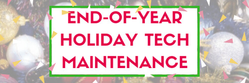 End-of-Year Maintenance: 19 Steps To A Speedier Computer