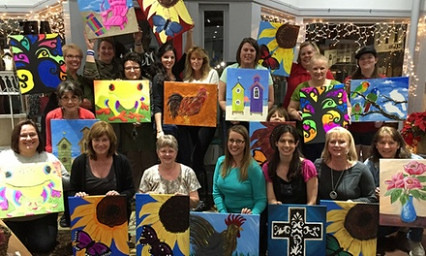 Seven Unexpected Ways Paint Nite Dc Groupon Can Make Your Life Better | paint nite dc groupon