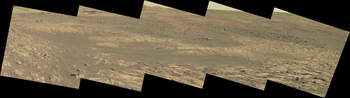 Gale Crater Scenic Panorama 3