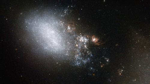 Interacting Galaxy NGC 4485