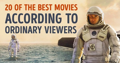 20 of the Top-Rated Movies According to Ordinary Viewers
