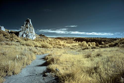 Infrared HDR Garden of the Gods, Colorado Springs