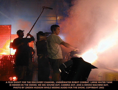 BEHIND THE SCENES - FILM CREW