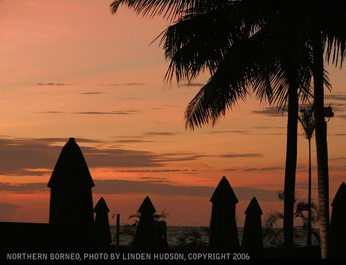 NORTHERN BORNEO - SUNSET