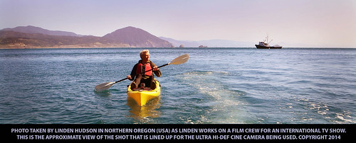 KAYAK ON THE OCEAN - OREGON USA