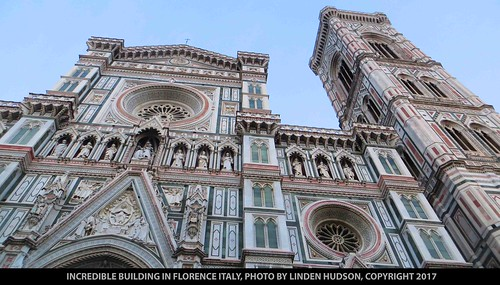 INCREDIBLE BUILDING - FLORENCE ITALY