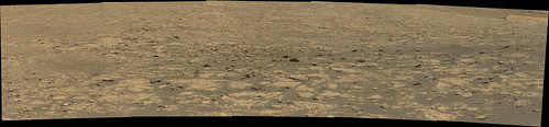 Gale Crater Scenic Panorama 2