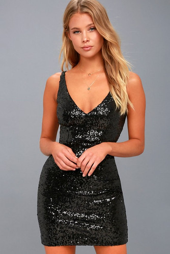 Here's What People Are Saying About Black Sequin Dress | Black Sequin Dress
