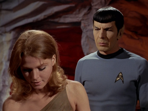 Mariette Hartley, Leonard Nimoy, Star Trek TOS,