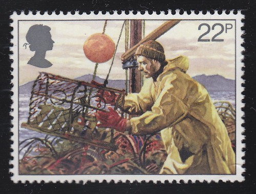 Royal Mail British Fishing Industry 1981