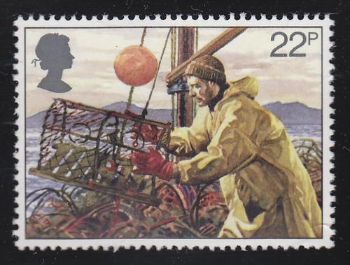 Royal Mail British Fishing Industry 1981