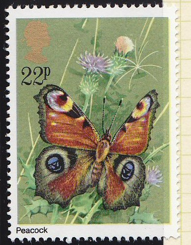 Royal Mail 1981 Butterflies